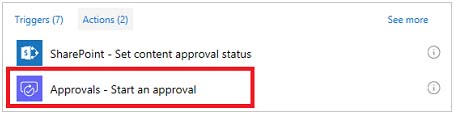 Start an approval